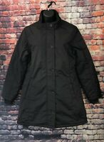 LURE JEANS Women's Black Puffer Quilted Winter Coat Jacket Size L