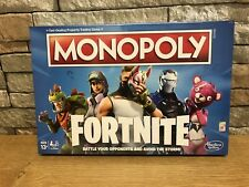 MONOPOLY FORTNITE EDITION FAST DEALING TRADING BOARD GAME FORTNIGHT NEW SEALED