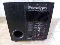Paradigm PDR Series Discrete Output High Current Subwoofer Amplifier
