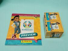Panini Euro EM 2020 Preview Sticker Sammelalbum + 2 x Display  Int. Edition