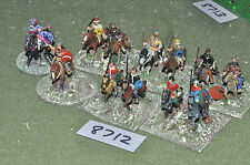 25mm late roman & hun cavalry 12 figures (8712) metal painted