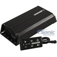 Kicker PXIBT100.2 100W RMS 2-Channel Bluetooth Weatherproof Compact Amplifier