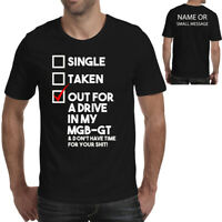 Out for a drive MGB GT  Fathers Day T-Shirt Ideal gift for Him Birthday Present