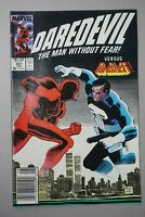 Daredevil #257 1988 Marvel PUNISHER Cover Newsstand
