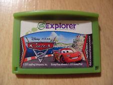 CARS 2 jeu pour LeapFrog LeapPad 3 & Ultra & Platinum & Leapster Explorer