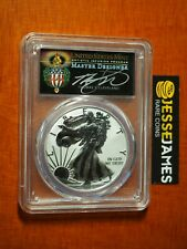 2019 S ENHANCED REVERSE PROOF SILVER EAGLE PCGS PR69 FS TORCH CLEVELAND W/ COA