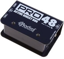 Radial Engineering Pro48 - Active 48-Volt Direct Box NEW! Free 2-Day Delivery!