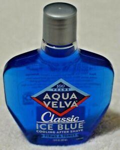 NEW Aqua Velva Cooling After Shave, Classic Ice Blue 7 fl oz
