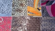 Joblots 40pcs Fausse Soie Foulard/scarves New Wholesale 50x50 cm Lot A1