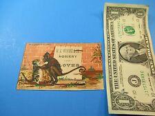 Antique Trade Card W.C. Winne & Co Hosiery & Gloves Declaration of Love TC3
