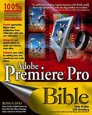 USED (GD) Adobe Premiere Pro Bible, with DVD by Adele Droblas
