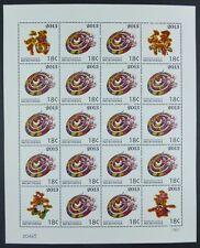 Mikronesien Micronesia 2013 Jahr der Schlange Year of the Snake Zodiac MNH