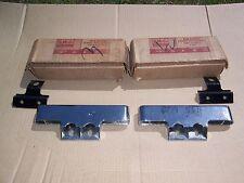 Nos 1960 61 62 63 64 Ford Galaxie Custom Rear Exhaust bumper Deflector kit trim