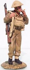 KING & COUNTRY FIELDS OF BATTLE FOB022 BRITISH TOMMY WITH HELMET MIB