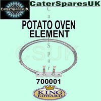 700001 KING EDWARD RING ELEMENT JACKET POTATO BAKING SPUD OVEN SPARES PARTS
