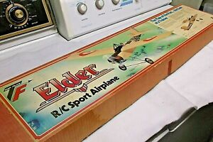 RARE! VINTAGE, NEW -TOP FLITE-  -ELDER-  RADIO CONTROL MODEL AIRPLANE KIT