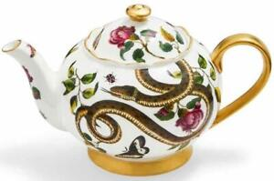 Spode Creatures of Curiosity teapot, snake pattern, 1.1L