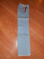 Authentic 70s Pentimento Light Blue Jean Denim Pants Womens 7 HI RISE Tube 26x37