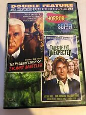 The Resurrection of Zachary Wheeler / Tales of The Unexpected DVD RARE OOP