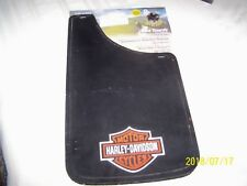 "Harley Davidson Universal Fit Mud Flaps Splash Guards Pair 11""x 19"" PlastiColor1"