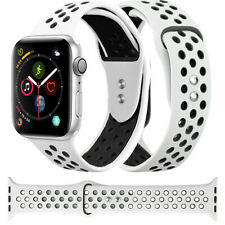 Sport Band Breathable Sports Wrist Strap Loop Hole For Apple Watch Series 54321