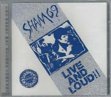 SHAM 69 - LIVE AND LOUD!! - (still sealed cd) - MAYO CD 559