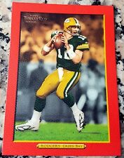 AARON RODGERS 2005 Topps Turkey RED SP Rookie Card RC Packers Superbowl MVP $$$