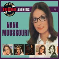 NANA MOUSKOURI - ORIGINALE ALBUM-BOX (DELUXE EDITION) 5 CD NEU