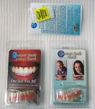 COMBO SET VENEERS BOTTOM & SMALL TOP INSTANT SMILE TEETH FOUR PACK EXTRA BEADS