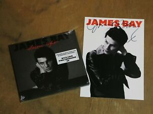 JAMES BAY: ELECTRIC LIGHT - CD ALBUM  - WITH SIGNED CARD!