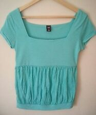 *WORN ONCE* - GAP - Gorgeous Azure / Sky Blue top -  fits sizes 8-10