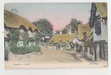 Shanklin,Isle of Wight,U.K.Old Village Scene,Used,1905
