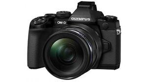 Olympus OM-D EM1 / E-M1  mit 12-40 mm / 2,8 Objektiv Neuware + HLD-7