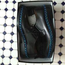 New Raf Simons Blue Chain Dress Shoes sz 45