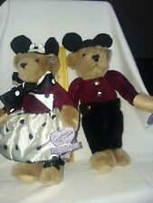 Annette Funicello Mousekateer Bears 1997 Sharon Knickerbacker Signed 12 Inches J