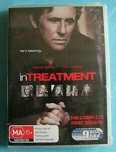 IN TREATMENT Season 1 DVD 9 Discs NEW SEALED Region 4 see below