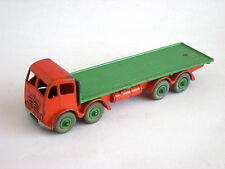 DINKY SUPERTOYS 502 FODEN FLAT TRUCK 2nd Cab Orange/Green - Slightly Chipped