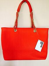 LOVE MOSCHINO Medium Orange Tote Shopper Bag. Brand New With Tags.