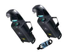 2 X American Dj Inno Roll Hp 80w Led Barril escáner efecto de iluminación de paquete