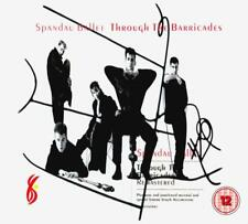 SPANDAU BALLET ‎– THROUGH THE BARRICADES DELUXE CD & DVD SET (NEW/SEALED)