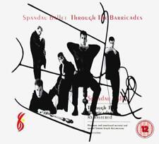 SPANDAU BALLET – THROUGH THE BARRICADES DELUXE CD & DVD SET (NEW/SEALED)