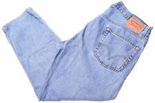 LEVI'S Mens 505 Jeans W36 L26 Blue Cotton Slim  BH03