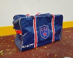 CCM KHL Team SKA Saint Petersburg Pro Stock Hockey Equipment Player Bag