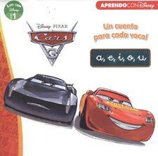 CARS 3. UN CUENTO PARA VOCAL: A, E, I, O, U. ENVÍO URGENTE (ESPAÑA)