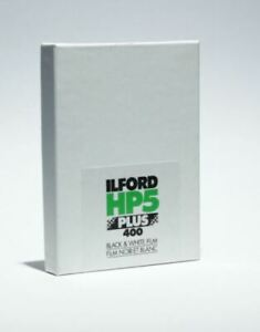 "Ilford HP5 Plus Black and White Negative Film 4 x 5"" (25 Sheets) Fresh Stock"