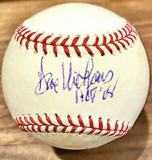"Dave Niehaus Signed OMLB Ball - Announcer ""HOF '08"" Autograph Mariners"