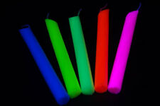 5 Pack Blacklight Reactive Drip Candle Set