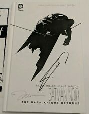 The Dark Knight Returns Signed Frank Miller & Jim Lee Batman Noir Book SDCC 2019