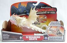 GENUINE HOW TO TRAIN YOUR DRAGON ACTION DRAGON SCREAMING DEATH CHOMPING TEET14