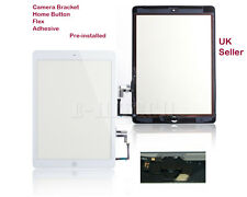 IPad 5 Air White Digitizer Touch Screen Panel with Home Button Apple 5th + tools